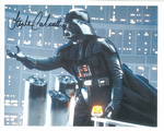 Stephen Calcutt STAR WARS  doubling for Darth Vader Genuine Signed Autograph 10x8 COA 10126